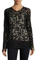 Sportmax Floral Embroidery Top