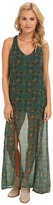 RVCA Glenn Crinkle Chiffon Dress