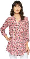 Nic+Zoe Flying Around Tunic Women's Blouse