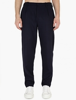 Raf Simons Charcoal Slim-Fit Wool Trousers