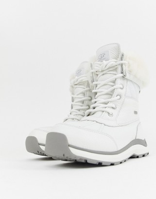 UGG Adirondack Quilted Ski Boot in White