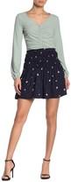 Elodie K Smocked Mini Skirt