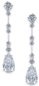 Eliot Danori Cubic Zirconia Teardrop Drop Earrings, Created for Macy's