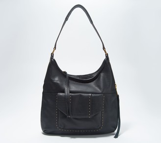 Aimee Kestenberg Leather Hobo with Pocket - When in Milan