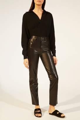 KHAITE The Victoria Pant in Black