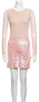 Thumbnail for your product : Aq/Aq Crew Neck Mini Dress Crew Neck Mini Dress