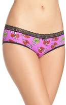 Betsey Johnson Stretch Cotton Hipster Panty (3 for $30)