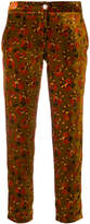 Roseanna floral print cropped trousers
