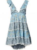 Zimmermann 'caravan' Tiered Floral Sun Dress