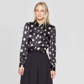 Who What Wear Women's Long Sleeve Collared Button-Down Shirt - Who What WearTM