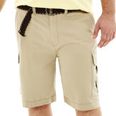 JCPenney THE FOUNDRY SUPPLY CO. The Foundry Supply Co. Belted Cargo Shorts - Big & Tall