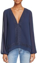 Finders Keepers Maison Tie Back Top