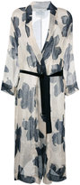 Forte Forte floral print coat