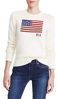Ralph Lauren Polo Flag Cotton Jumper