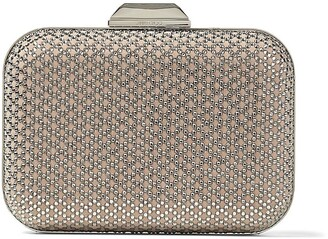 Jimmy Choo Cloud crystal embellished clutch bag