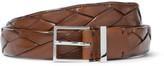 Brunello Cucinelli - 2.5cm Brown Braided Leather Belt