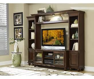 Homelegance Lenore Solid Wood Entertainment Center for TVs up to 55 inches