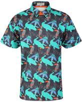 McIndoe Design - Dark Tropical Print Shirt