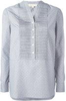 MICHAEL Michael Kors mandarin neck tunic - women - Cotton/Polyester - XXS