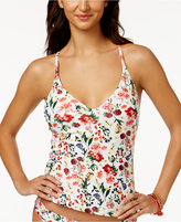 Jessica Simpson Garden Party Printed Tankini Top