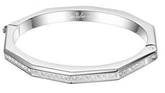 Opes Robur Silver Deca Cuff