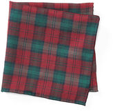 Polo Ralph Lauren Tartan Silk Pocket Square