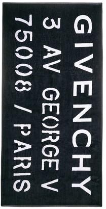 Givenchy Kids Printed Towel