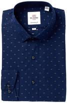 Ben Sherman Clip Spot Soho Camden Tailored Skinny Fit Dress Shirt