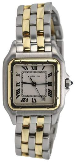 Cartier Panthere de 18K Yellow Gold & Stainless Steel 22mm Watch