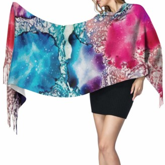 Yushg Fashion Morden Art Marble Texture Womens Shawl Wrap Ladies Scarfs Women Lightweight Scarf 77x27inch/196x68cm Large Soft Pashmina Extra Warm