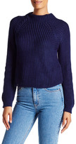 Cotton Emporium Cropped Long Sleeve Sweater