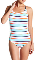 Tommy Bahama Stripe One-Piece Swimsuit