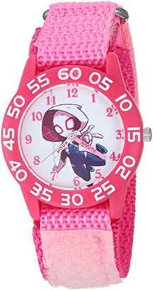 Marvel Girls Super Hero Analog-Quartz Watch with Nylon Strap