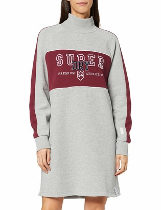 Superdry Women's Funnel Sporty Sweat Dress