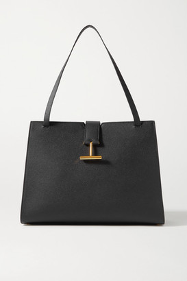 Tom Ford Tara Textured-leather Tote - Black