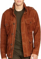 Polo Ralph Lauren Suede Combat Jacket