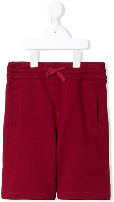 Dolce & Gabbana Kids Brand Patch Bermuda Shorts