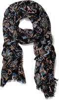 J.Mclaughlin Reed Wool Scarf in Fowlerton