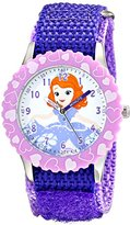 Disney Kids' W001938 Sofia Analog Display Analog Quartz Purple Watch