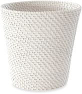 Bed Bath & Beyond Cayman White Rattan Wastebasket