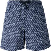 Fashion Clinic Timeless - printed swim shorts - men - Nylon/Polyester - S