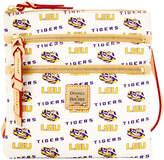 Dooney & Bourke Lsu Tigers Triple-Zip Crossbody Bag