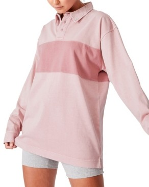 Cotton On Women's Logan Rugby Top
