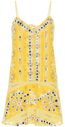 Juliet Dunn Exclusive to Mytheresa Embellished cotton dress