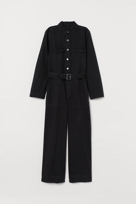 H&M Denim Jumpsuit - Black