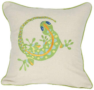 """Collection 18 Manor Luxe Archipelago Emboridery Pillow Collection, 18"""" x 18"""""""