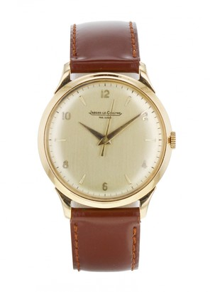 Jaeger-LeCoultre Vintage Khaki Yellow gold Watches