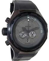 Nixon Men's Steelcat A313001 Birch Carne Silicone Swiss Quartz Watch