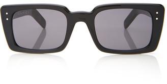 Gucci Two-Tone Square-Frame Acetate Sunglasses