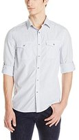 Kenneth Cole New York Kenneth Cole Men's Double Pocket Mini Check Shirt